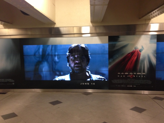 Man of Steel Out of Home Advertising